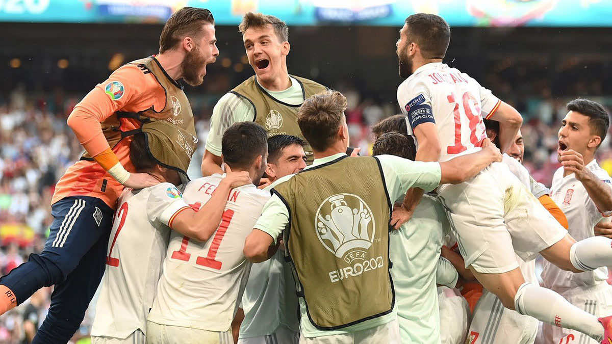 شاهد فيديو اهداف مباراة اسبانيا وكرواتيا في يورو 2020.. الماتادور يُطفئ الناريون