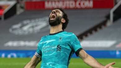محمد صلاح التشكيل المثالي لـ الدوري الانجليزي موسم 2021/2020