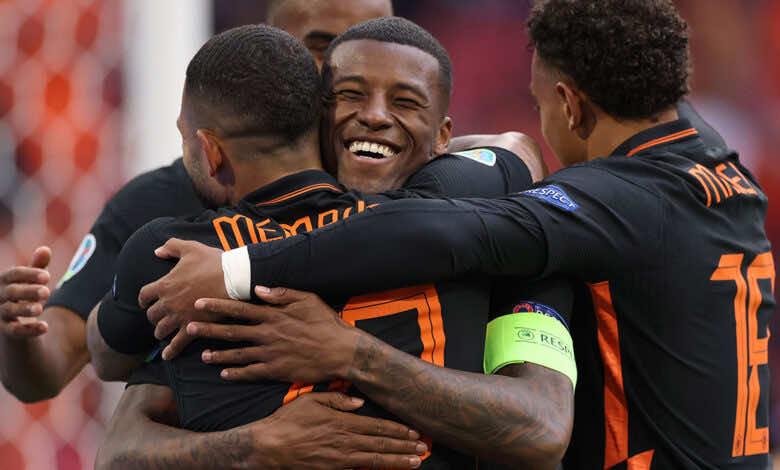 شاهد فيديو اهداف مباراة هولندا ومقدونيا في يورو 2020.. فينالدوم يواصل الابداع