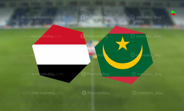 موعد مباراة اليمن وموريتانيا في كأس العرب 2021 والقنوات الناقلة