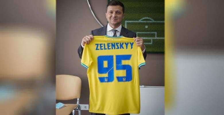 قميص أوكرانيا في يورو 2020 يستفز روسيا