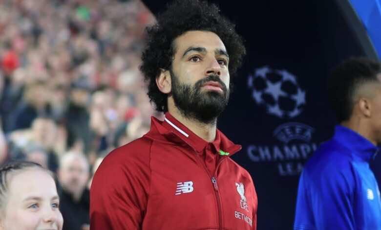 نجم نادي ليفربول ومنتخب مصر محمد صلاح