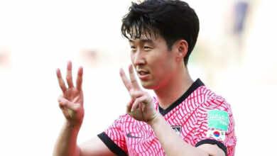شاهد فيديو اهداف كوريا الجنوبية ولبنان في تصفيات كأس العالم 2022 «سون يساند إريكسن»