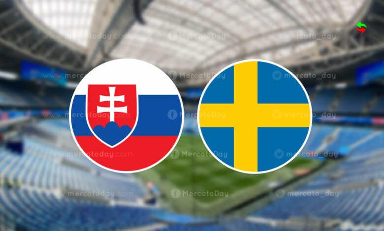 موعد مباراة السويد وسلوفاكيا في يورو 2020 والقنوات الناقلة