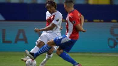 فيديو | نجم الهلال السعودي أندريه كاريو يصنع هدف تعادل بيرو امام باراجواي في كوبا امريكا 2021