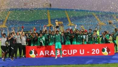 السعودية تقهر الجزائر في مصر وتتوج باللقب الثاني ببطولة كأس العرب للشباب