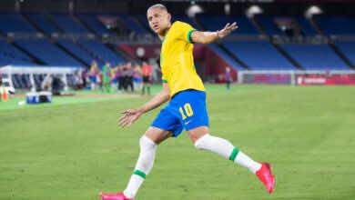 شاهد فيديو اهداف مباراة البرازيل والمانيا في اولمبياد طوكيو 2020