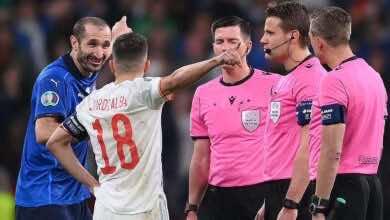 مورينيو يكشف سر ضحك كيليني مع ألبا في يورو 2020