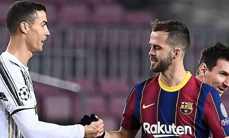 صراع ثلاثي بين يوفنتوس وتوتنهام وارسنال على ضم لاعب برشلونة