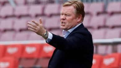 صفقات برشلونة   كومان يطلب التعاقد مع ظهير أيسر جديد من الدوري الإنجليزي