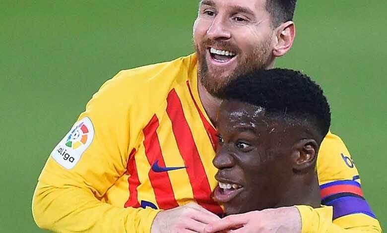 بعد رفضه التجديد.. موريبا يتعرض لهجومًا عنصريًا من جماهير برشلونة