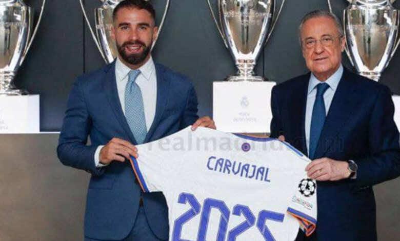 رسميًا .. ريال مدريد يؤمن مدافعه بعقد جديد