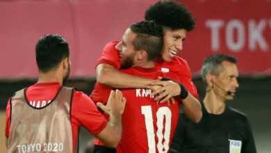 السر وراء منح حجازي الشارة لرمضان صبحي في مباراة مصر والبرازيل