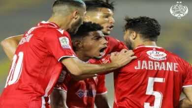 الوداد يلدغ الرجاء وويوسع الفارق أمامه لتسع نقاط في البطولة المغربية المحترفة (صور:twitter)