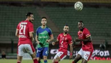نتيجة مباراة الاهلي ومصر المقاصة في الدوري المصري اليوم (صور:twitter)