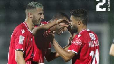 الوداد يهزم وجدة ويحسم لقب البطولة المغربية لصالحه قبل 3 جولات (صور:twitter)