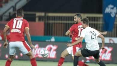الاهلي يفرط في نقطتين ثمينتين ويتعادل أمام البنك الاهلي في الدوري المصري (صور:twitter)