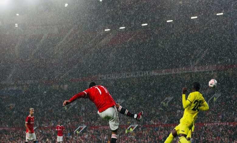 شاهد فيديو اهداف مباراة مانشستر يونايتد وبرينتفورد الودية اليوم (صور:twitter)