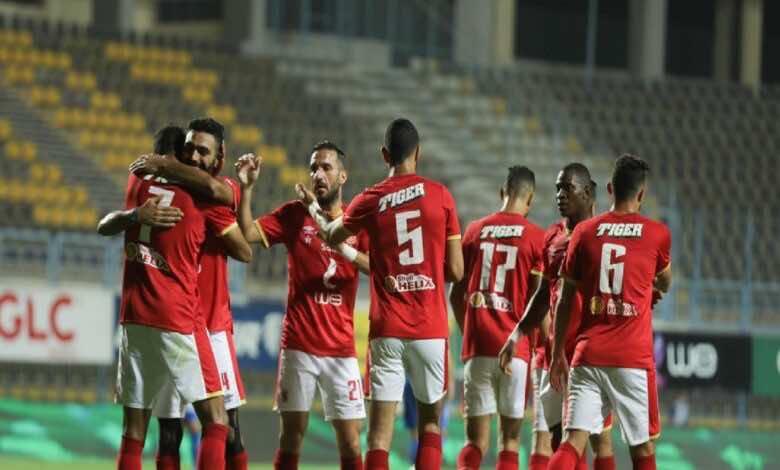 شاهد فيديو اهداف مباراة الاهلي واسوان في الدوري المصري (صور:twitter)
