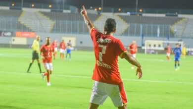 نتيجة مباراة الاهلي واسوان في الدوري المصري اليوم (صور:twitter)