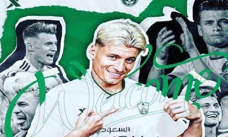 الميركاتو الصيفي 2021   أهلي جدة السعودي يقدم لاعبه المقدوني جياني أليوسكي بطريقة فريدة