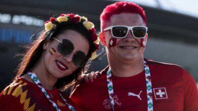 صور مباراة اسبانيا وسويسرا في بطولة يورو 2020 ربع النهائي على ملعب كريستوفسكي في سان بطرسبيرج - صور Getty