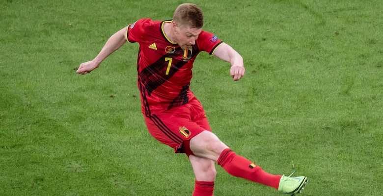 كيفين دي بروينه لاعب مانشستر سيتي ومنتخب بلجيكا