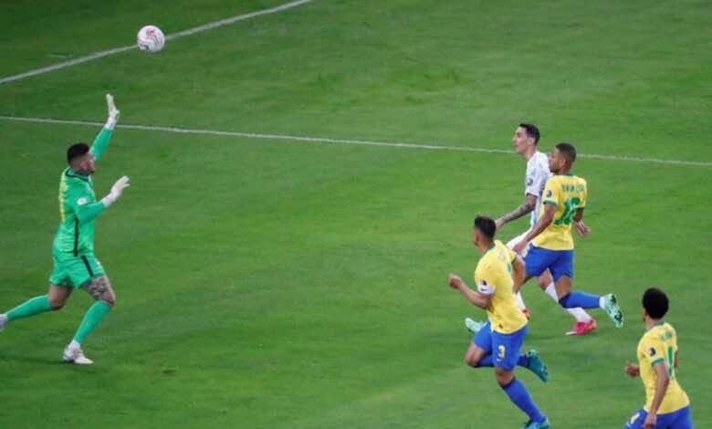 ملخص مباراة الارجنتين والبرازيل في نهائي كوبا امريكا 2021..التانجو يرقص في ماراكانا