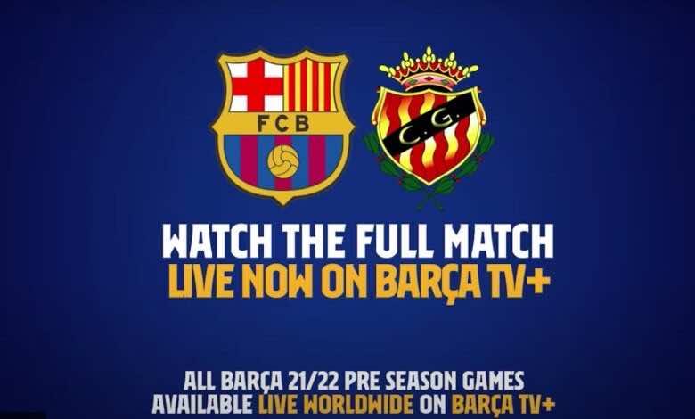 مشاهدة مباراة برشلونة وخيمناستيك في بث مباشر اليوم
