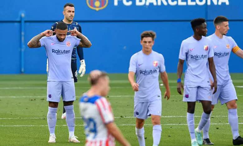برشلونة ينتصر على جيرونا في ثاني مبارياته التحضيرية بمشاركة ديباي
