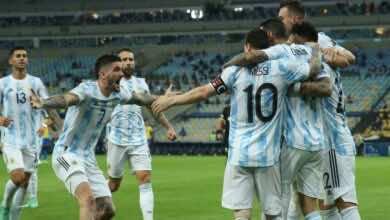 شاهد فيديو اهداف مباراة البرازيل والارجنتين في نهائي كوبا امريكا 2021..دي ماريا يعاقب لودي