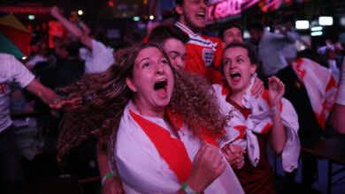 الآن | انجلترا تبلغ نهائي أمم أوروبا لأول مرة في تاريخها بالفوز على الدنمارك