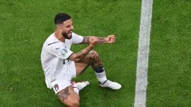 شاهد فيديو اهداف مباراة ايطاليا وبلجيكا في يورو 2020..انسيني يسجل هدف العادة