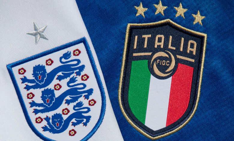 موعد مباراة ايطاليا وانجلترا في نهائي يورو 2020.. القنوات الناقلة والمعلق