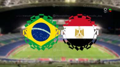 ملخص مباراة مصر والبرازيل في اولمبياد طوكيو 2020