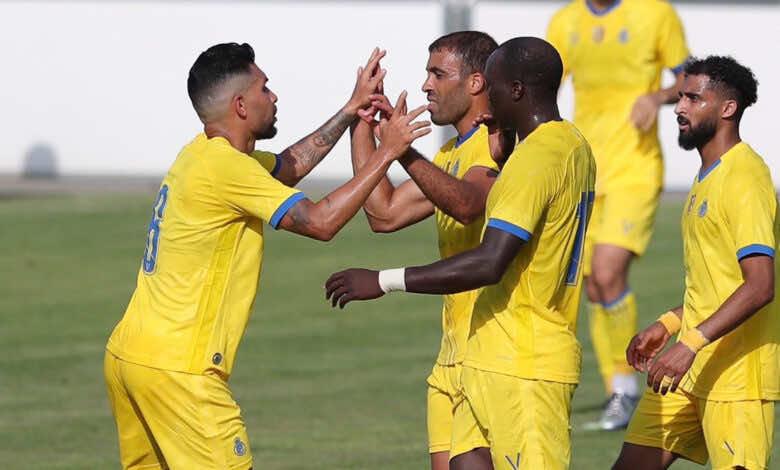 شاهد فيديو اهداف مباراة النصر واكاديمية بانديف في تحضيرات موسم 2021/2022