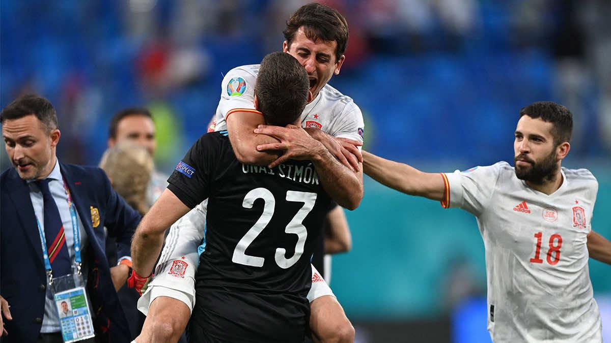 شاهد فيديو اهداف مباراة اسبانيا وسويسرا في يورو 2020.. ليلة تألق حراس المرمى