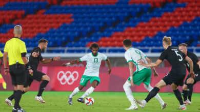 نتيجة مباراة السعودية والمانيا في اولمبياد طوكيو 2020