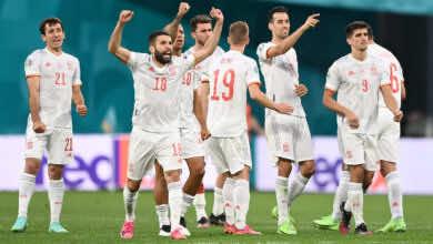 نتيجة مباراة اسبانيا وسويسرا في ربع نهائي يورو 2020.. اللاروخا تقهر سومير وتتأهل للمربع الذهبي
