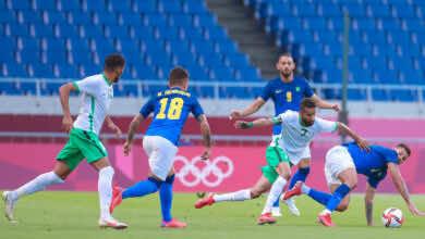 نتيجة مباراة السعودية والبرازيل في منافسات كرة القدم بـ اولمبياد طوكيو 2020