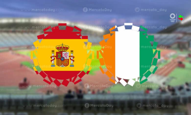ملخص مباراة اسبانيا وكوت دي فوار في اولمبياد طوكيو 2020