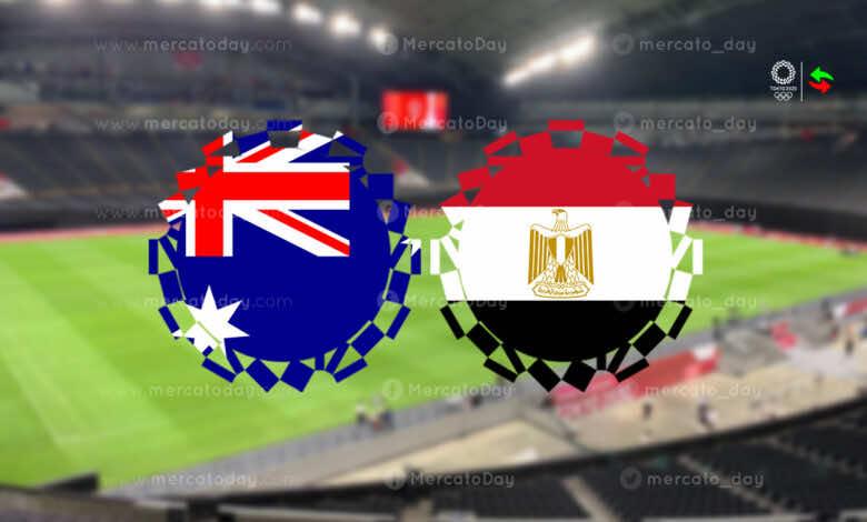 ملخص مباراة مصر واستراليا في منافسات كرة القدم بـ اولمبياد طوكيو 2020