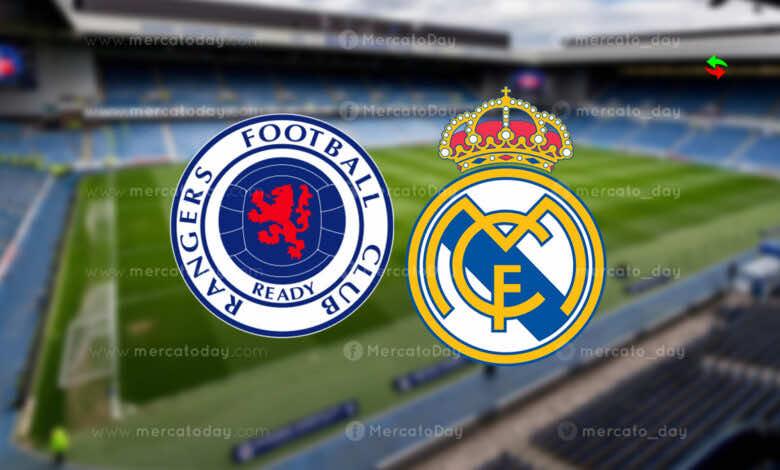 موعد مباراة ريال مدريد وجلاسكو رينجرز في تحضيرات موسم 2022/2021