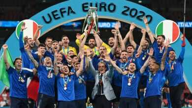 نتيجة مباراة انجلترا وايطاليا في نهائي يورو 2020.. الذهب للآزوري والحسرة للأسود