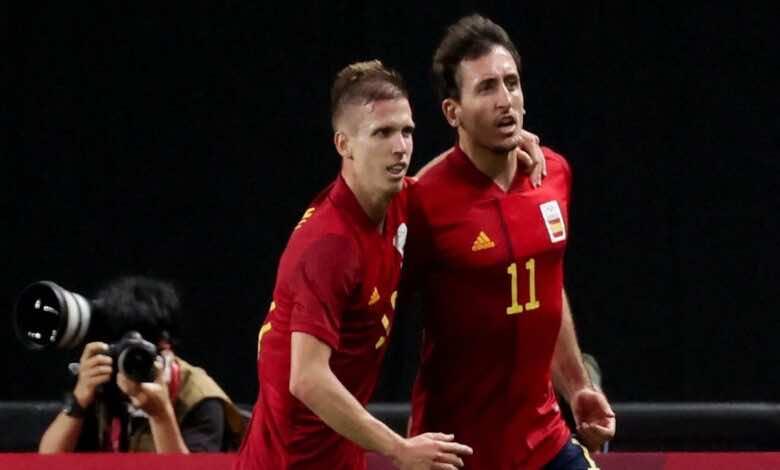ملخص مباراة اسبانيا واستراليا في اولمبياد طوكيو 2020..هدف قاتل للإسبان يُعقد المجموعة