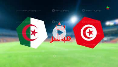 مشاهدة مباراة تونس والجزائر في بث مباشر اليوم ببطولة كأس العرب للشباب