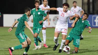 الجزائر تتجاوز تونس وتضرب موعدًا مع السعودية في نهائي كأس العرب للشباب