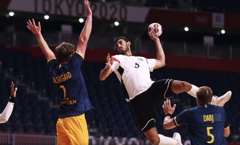 جدول ترتيب مجموعة يد مصر في اولمبياد طوكيو 2020 بعد الفوز التاريخي على السويد