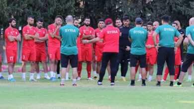 سوريا تتحجج بكورونا والفار، وتبحث عن ملعب محايد لمواجهة ايران في تصفيات كأس العالم 2022