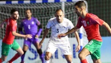 منتخب مصر لكرة الصالات يسعى لرد اعتباره من المغرب غدًا في الرباط